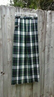 Ladies Party Pleated Skirt Multicolours Kilt With Zipper Style  Size 8-14 FA207