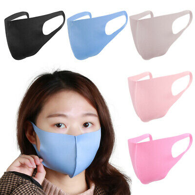 Washable Anti-Bacterial Anti-PM2.5 Mouth Masks Anti-Haze Dust Pollen Allergy