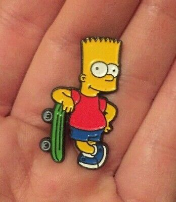 The Simpsons BART Simpson Enamel Pin Badge Cartoon Character Stamped Sedesma GC