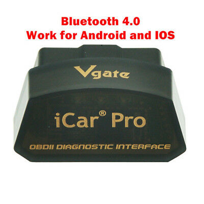 US Vgate iCar Pro Bluetooth 4.0 ELM327 OBD2 Scanner Diagnostic Tool Code Reader