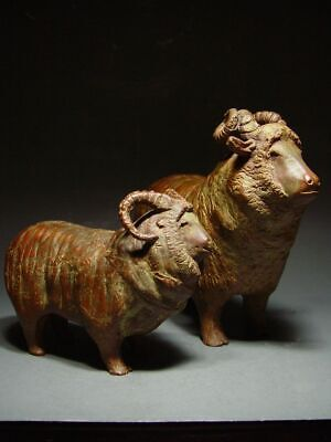 BRONZE SHETLAND SHEEP OF SCOTLAND, SCANDINAVIAN SCULPTURAL ART. 19/20th C.