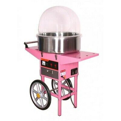 Machine for Sugar Thread Professional 520 mm with Cart + Dome