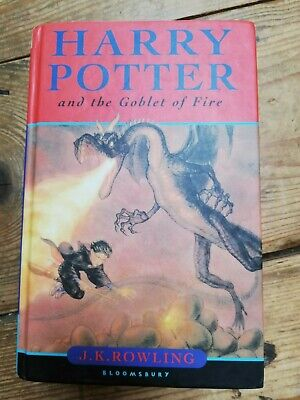 Harry Potter and the Goblet of Fire Hardback