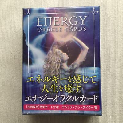 Energy Oracle card with Japanese version manual