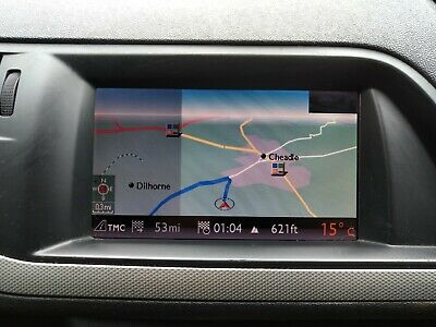 Citroen C5 Peugeot 407 Sat Nav Screen Display 9664993180 2007+
