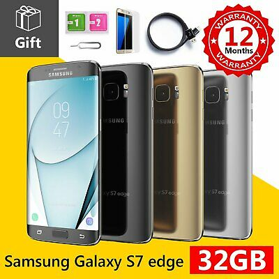 Samsung Galaxy S7 Edge 32GB Unlocked Sim Free 4G LTE Android Smart Phone
