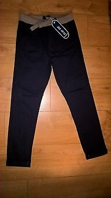 Blue Zoo Boys Slim Fit Trousers Age 10 NEW