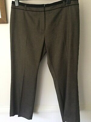 Marks & Spencer's Brown Trousers In Size 18s In very good condition. Bargain!
