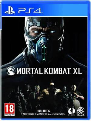 Mortal Kombat XL PS4 PlayStation 4 Game PAL Version New Sealed  In Stock