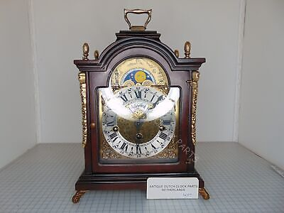 Dutch Warmink Westminster Table Clock