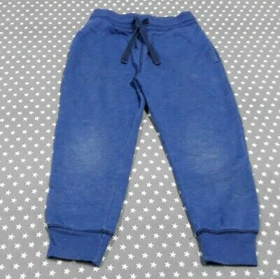 Lovely Boys Blue Jogging Bottoms Trousers Joggers Size Age 4-5 Years H&M