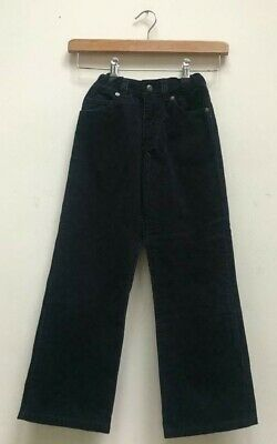 Boys Gant Navy Blue Corduroy Cord Straight Trousers Size Kids Age 5-6 Years