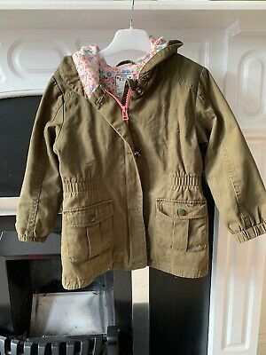 M&S Kids Girls Jacket Age 5-6 Years - Khaki