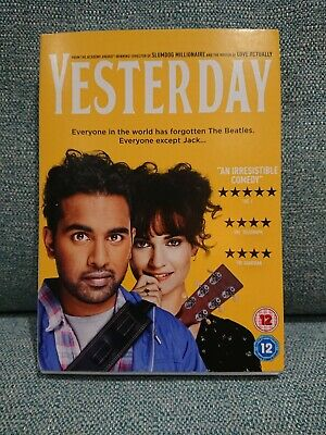 Yesterday [DVD] only watched once.  Bonus features - alternate ending and more.