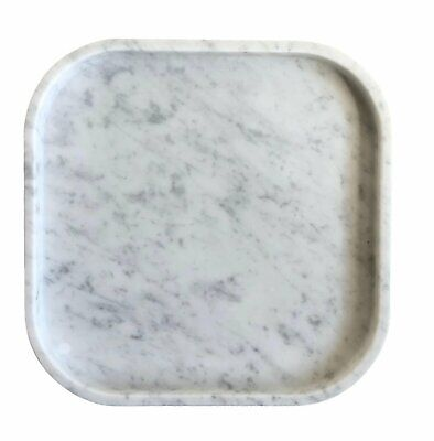 NEW Circle Carrara Marble Tray - Behr&Co,Kitchen & Butler Trays