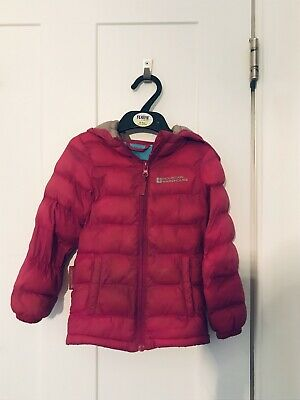 Mountain Warehouse girls padded/ puffer jacket 2-3 years  Good Condition Pink