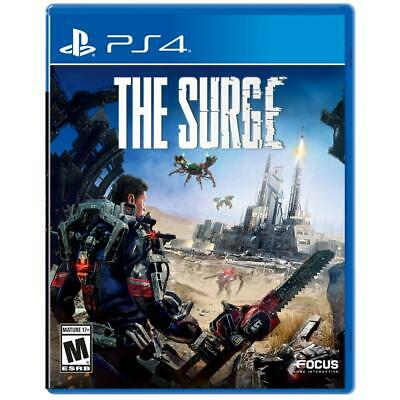 Sealed Playstation PS4 game The Surge Focus home rated M