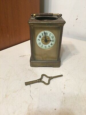 Antique French Carriage Clock Parts Shreve Crump & Lowe Boston Dial