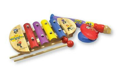 The Wiggles Mini Music Set (Xylophone, Recorder & Castanet)