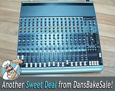 Mackie 1604-VLZ3 Pro 16-Channel Premium Mic / Line Mixer - Tested!