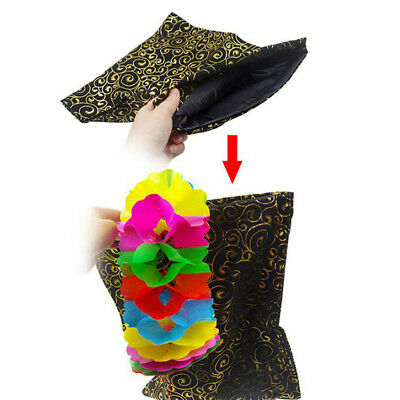 1Pc Cloth Magic Changing Bag Durable Magic Pouch Stage Close-up Magic Props BA