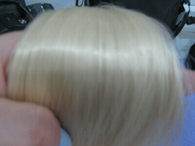 Hair Clip In Extensions Pale Blonde Long 20 inches
