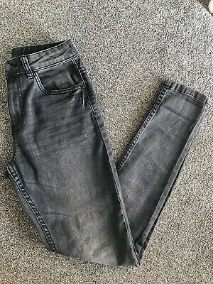 Boys Next Black Grey Faded Carrot Jeans Age 10