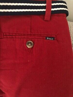 POLO Ralph Lauren trousers for boys 7 years. New, with tags