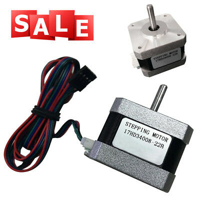 42X42X34mm Body Stepper Motor For 3D Printer Medical Industrial Automatic SYSTEM