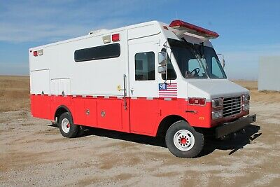 Search and Rescue truck / Box Van / Food truck ?