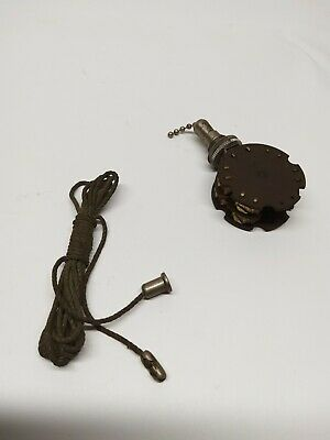 Vintage Antique Levolier 206 Pull Switch (Not Tested)