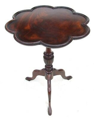 Antique Style Mahogany Wine / Occasional Table / Lamp Stand circa 1920 (a59)