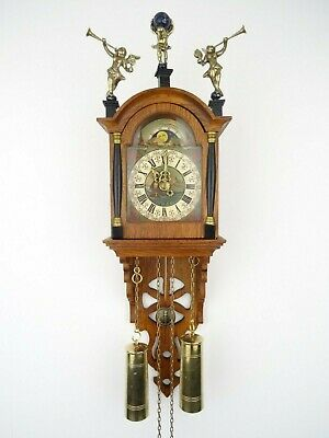 Friesian Dutch Wall Clock Vintage (Warmink Zaanse Junghans Era)
