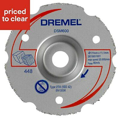 Dremel Carbide Flush Cutting Wheel
