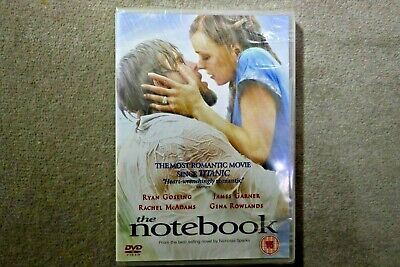 The Notebook ( Newly Re Released Version )    Brand New Sealed Genuine Uk Dvd
