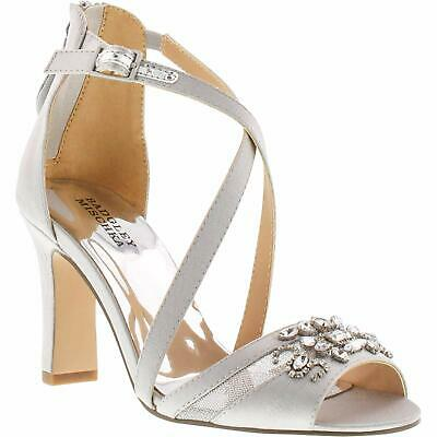 Badgley Mischka Kids' Kendall Hannah Pump, Silver, Size 5.0 ms4X