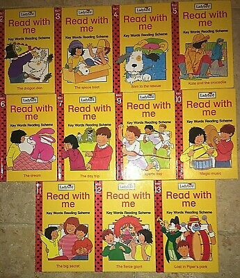Ladybird Read With Me Key Words Books 2-7 & 9-13 Eleven books in total Education