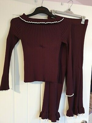 Girls River Island Outfit Jumper & Trousers