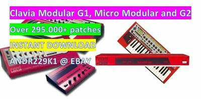 Clavia Nord Modular G1 G2 Micro Rack - 295.000 + Sound Patche Library - Download