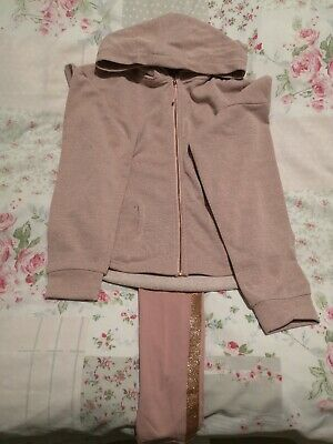 Girls M&S Tracksuit BNWOT Age 9-10