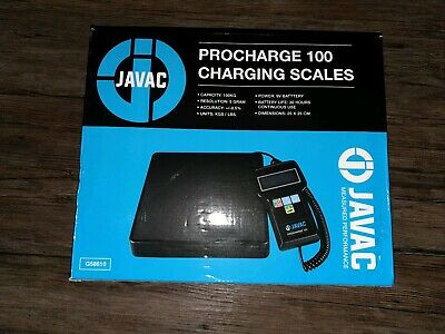 Javac Procharge 100 Air Con Refrigeration Charging Scales