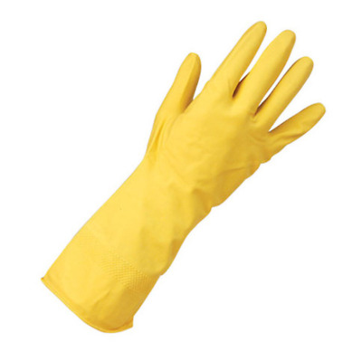 Extra Clean Grip Heavyweight Rubber Gloves Yellow - 8.5 / Large