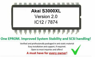 YAMAHA Sampler A3000 A-3000 EPROM Version 2.0  Update last version
