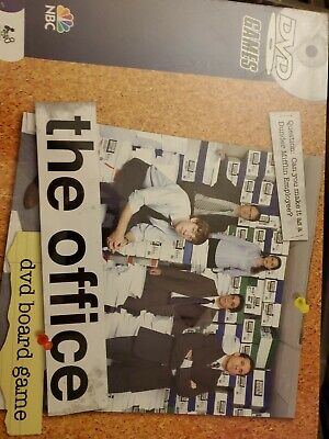 The Office DVD Board Game 2008 (FACTORY SEALED) box damage