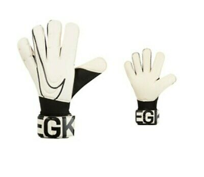 Nike Gk Vapor Grip 3 Acc Soccer Goalkeeper Gloves Black/White Gs3884-100 Sz: 11