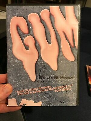 Gum by Jeff Prace - DVD Magic Trick Kozmo Magic