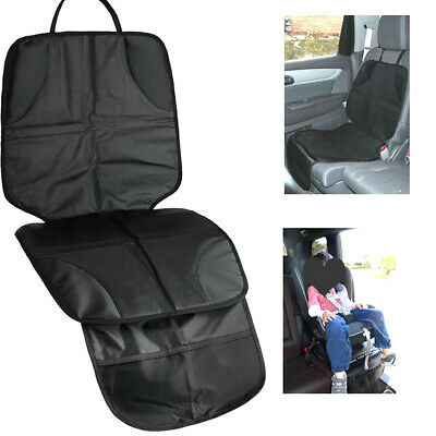 Waterproof Black Auto Car Seat Back Protector Cover For Child Kids Baby Kick Mat