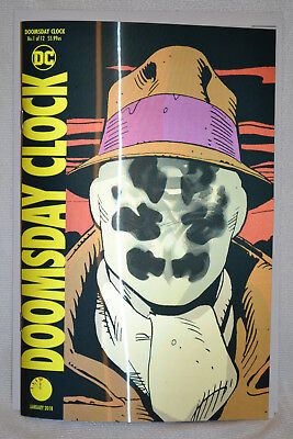 Doomsday Clock Lenticular Variant Cover DC Comics Watchmen + Bonus