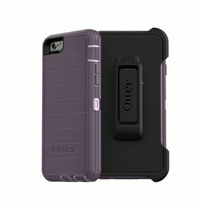 New Authentic OtterBox Defender PRO Series For iPhone 6/6s Case with Clip-Purple