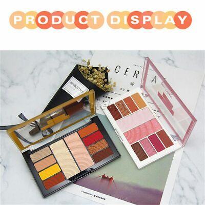 Eyeshadow High-light Palette Fashion Natural Glitter Matte Cosmetic 10 Colors